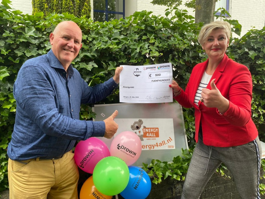 proWIN cheque Energy4All Brenda Nijborg juni2020