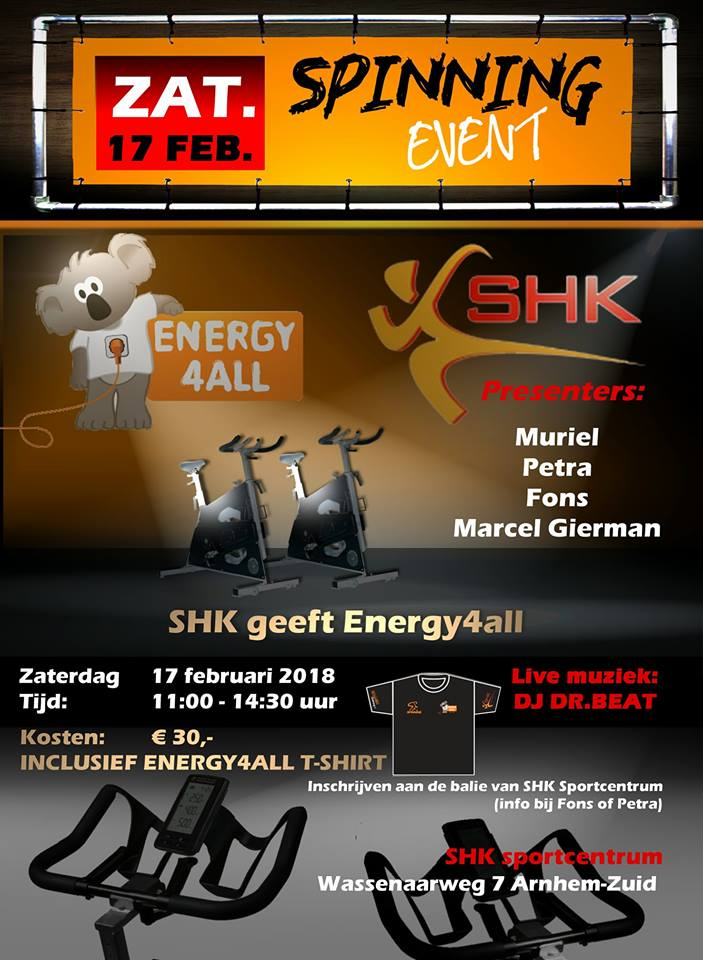 SHKspinningEvent Energy4All 17febr2018